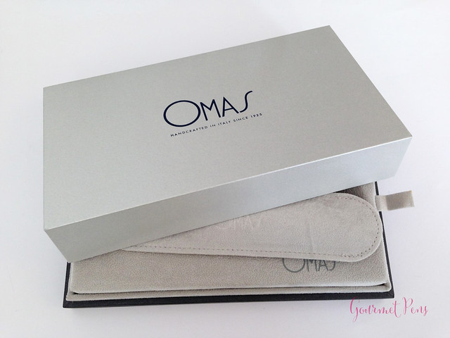 Review Omas Ogiva Cocktail Fountain Pen - Stub @Omas_Official (2)