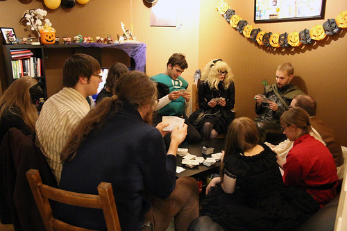 Playing Cards against Humanity