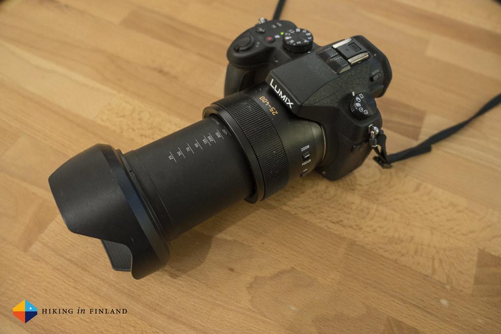 Big lens on the Panasonic DMC-FZ1000