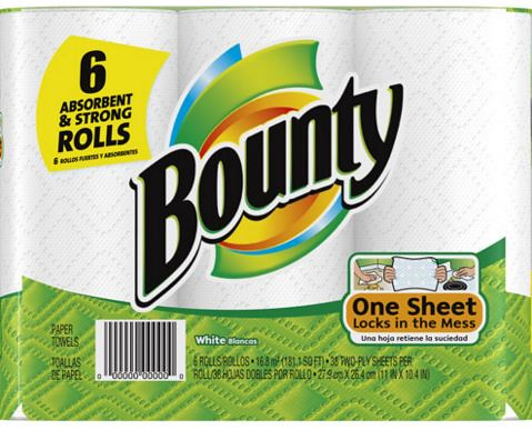Bounty Paper Towels at CVS