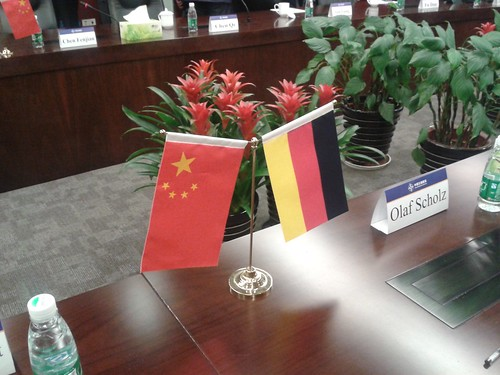 Hamburg Delegation in China 2015