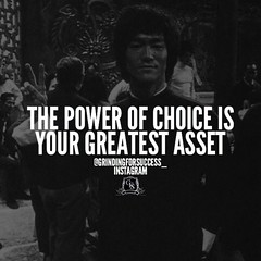 The power of choice is your greatest asset… ▬▬▬▬▬▬▬▬▬▬▬▬▬▬▬▬▬▬▬ At any time you have the power to decide to alter the course of your life and no one can take that from you… ▬▬▬▬▬▬▬▬▬▬▬▬▬▬▬▬▬▬▬ You have the power to choose to be what you want, when you wan