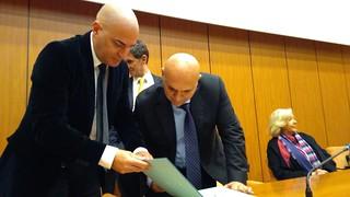 Il Rettore dell'Ateneo di Bari sigla la Charta di Parigi