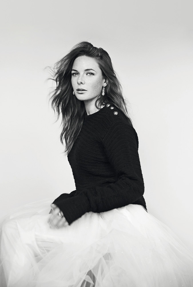 Ребекка Фергюсон — Фотосессия для «Elle» SE 2015 – 3