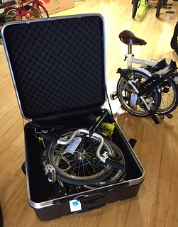 Brompton Hard Shell Case at BicycleSpace