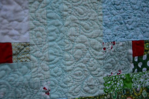 Evergreen Quilt by Poppyprint