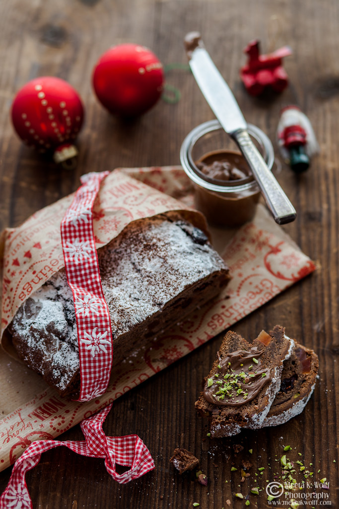 Chocolate Cranberry Papaya Stollen-by Meeta Wolff-WM-0015