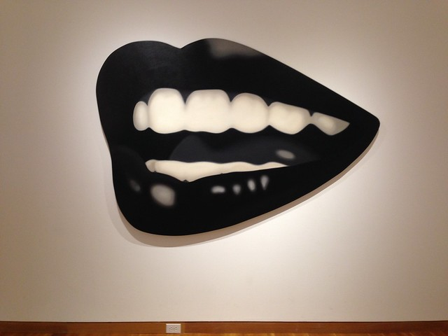 Tom Wesselmann, Mouth #15, 1968, at High Museum of Art