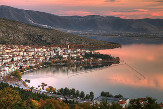 Kastoria Sunset