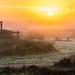 Sunrise @ old well @ Planken Wambuis by p.lelion