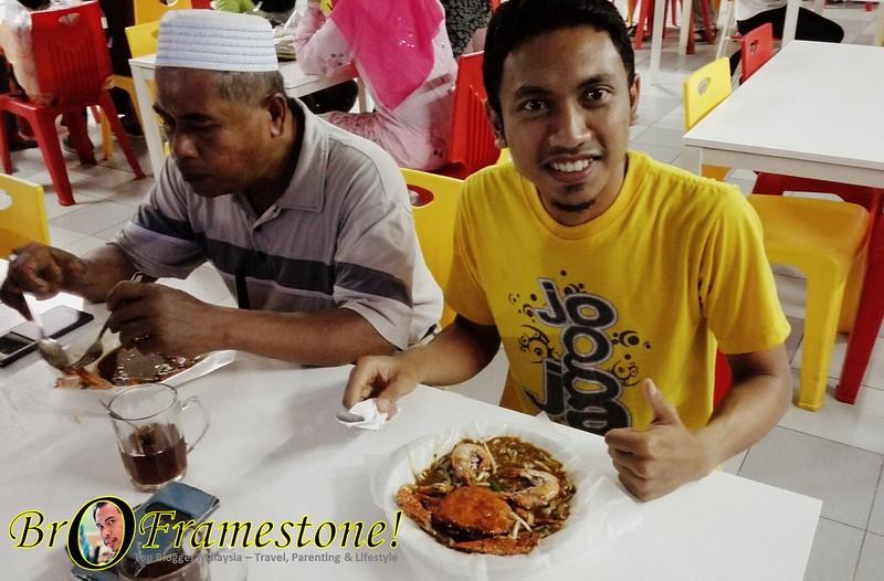 Char Kuey Teow Ketam at Bro Char Kuey Teow, Tg Malim, Perak