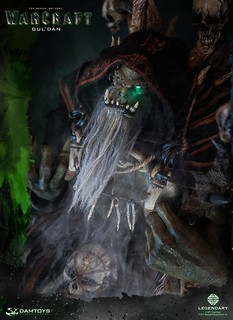 DAMTOYS 魔獸:崛起【古爾丹】WARCRAFT Gul'dan 全身雕像作品 DMLW01