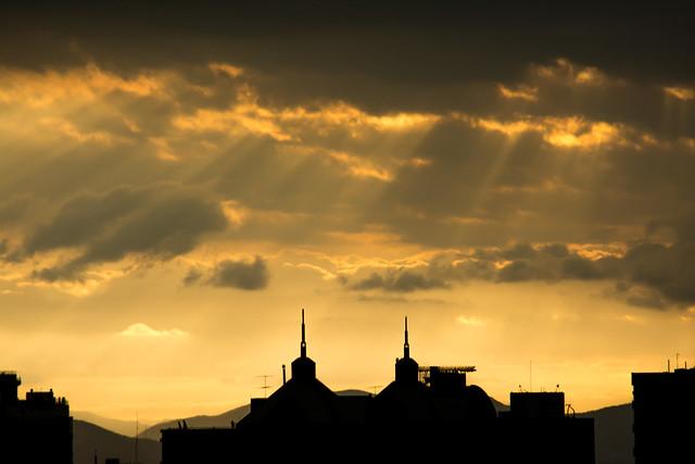 Sunset, Nikon D7100, Sigma 28-200mm F3.5-5.6 Compact Aspherical Hyperzoom Macro