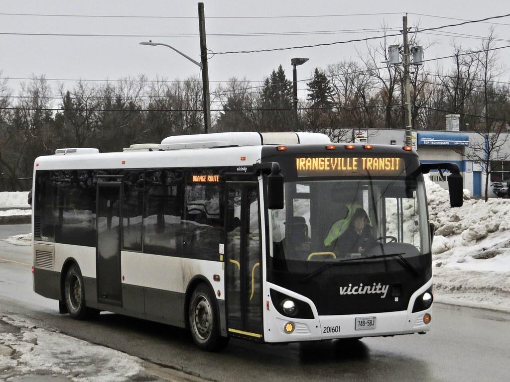Orangeville Transit 201601