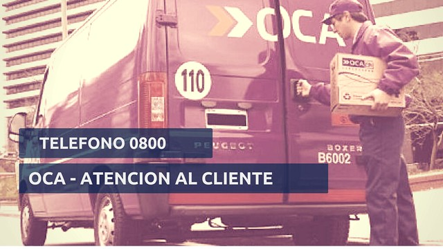 Teléfono 0800 OCA