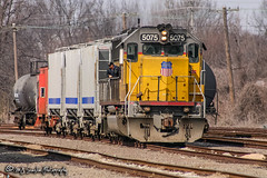 NREX 5075 | EMD SD50 | UP Leewood Yard