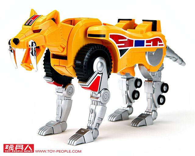 由守護獸合體而成的巨大神,復活!「超合金魂 GX-72《恐龍戰隊獸連者》大獸神」開箱報告
