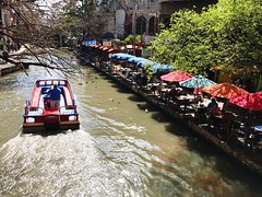 Transportation Mode Of Transport Water River Real People Nautical Vessel Outdoors Tree Large Group Of People Architecture Men Day Nature at The San Antonio River Walk