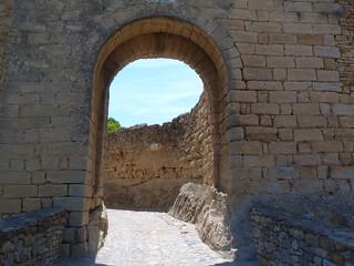Portal de la Virgen (Peratallada, Baix Empordá)