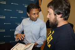 Bobby Jindal and supporter