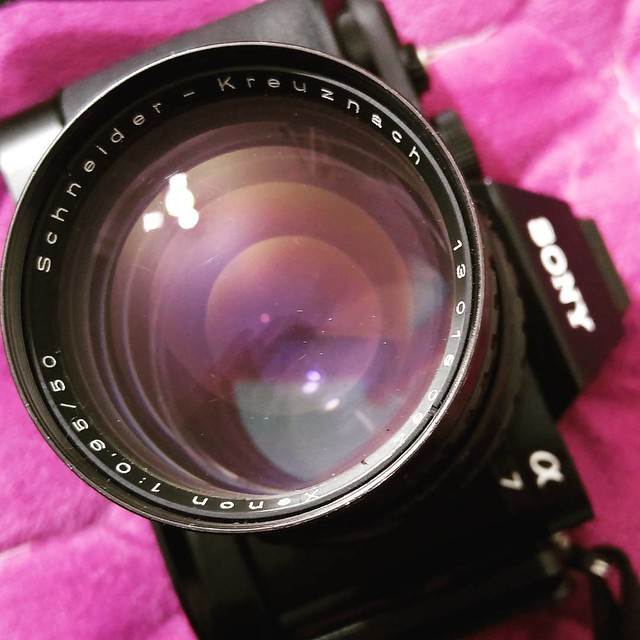 Schneider 50mm f0.95 SONY A7測試