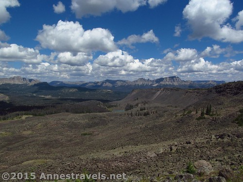 Views from Lava Mountain near Togwotee Pass, Shoshone National Forest & Bridger-Teton National Forest, Wyoming