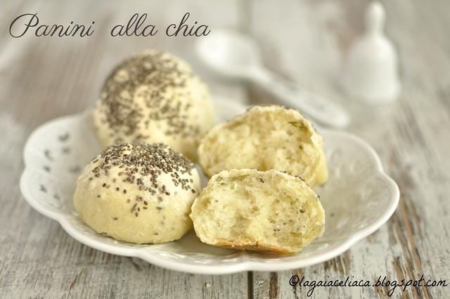 Panini ai semi di Chia