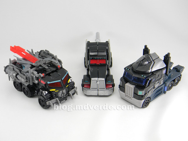 Transformers Nemesis Prime Voyager - Transformers Prime First Edition Custom - modo alterno vs Universe vs Beast Hunters