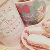 Pink Dessert and Tea