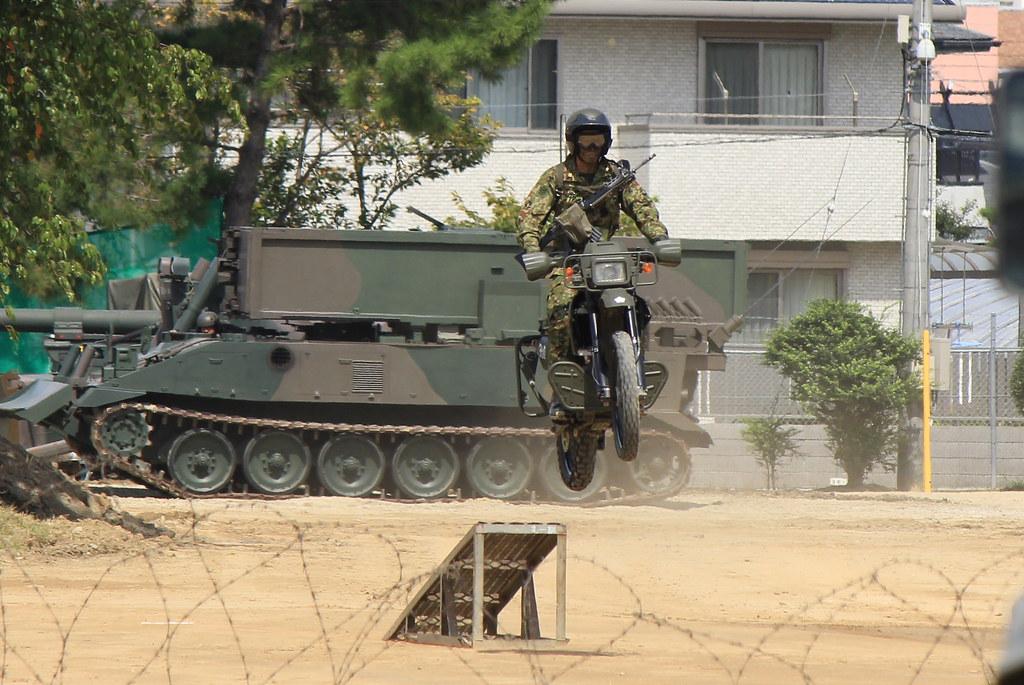 偵察用カワサキKLX250ES