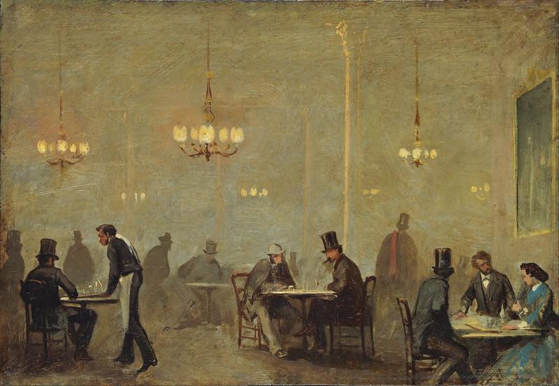 Ricardo Balaca - The Café (c.1860)