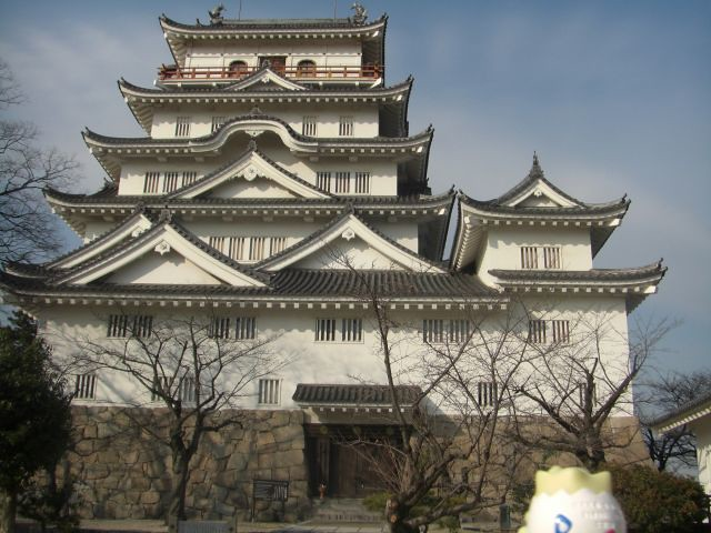 Togepi in Fukuyama, Hiroshima 13 (Fukuyama castle)