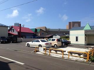 rishiri-island-kutsugata-parking