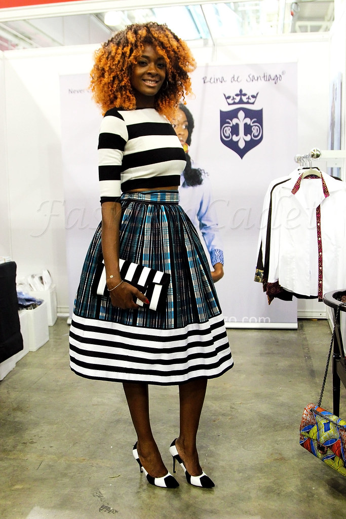 how-to-style-stripes-on-stripes, River Island Striped crop top, Striped crop top, Striped A line skirt, Striped clutch & Striped Heels, Striped long sleeved crop top, Striped A line skirt by @ladyfricadfl, LKbennet Striped clutch, LKbennet Striped Heels, Wearing stripes head to toe, how to wear stripes head to toe