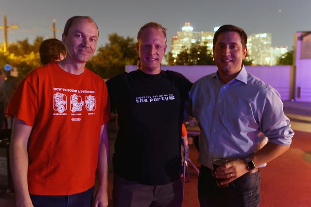 Matt, Bill and Calvin