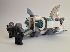 Galaxy trooper dropship hatch opened...