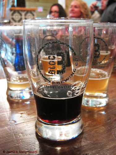Little sample snoots of Block Three beers