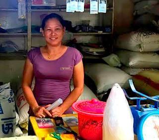 Estancia market vendor Juvy Y. Espiga