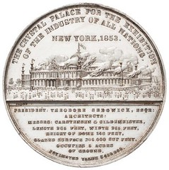 Crystal Palace burning medal
