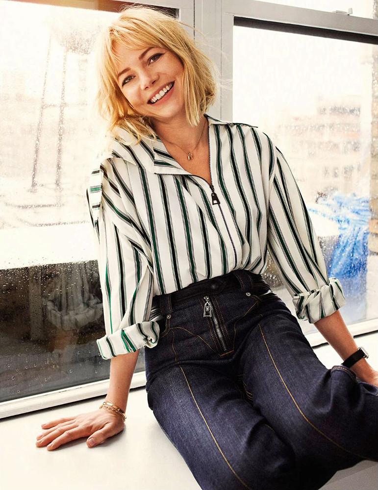 Мишель Уильямс — Фотосессия для «Elle» FR 2015 – 6