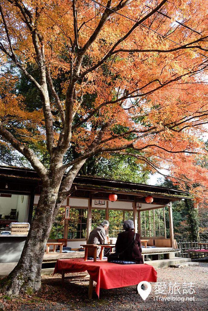 京都赏枫景点 神护寺 高雄茶屋 14
