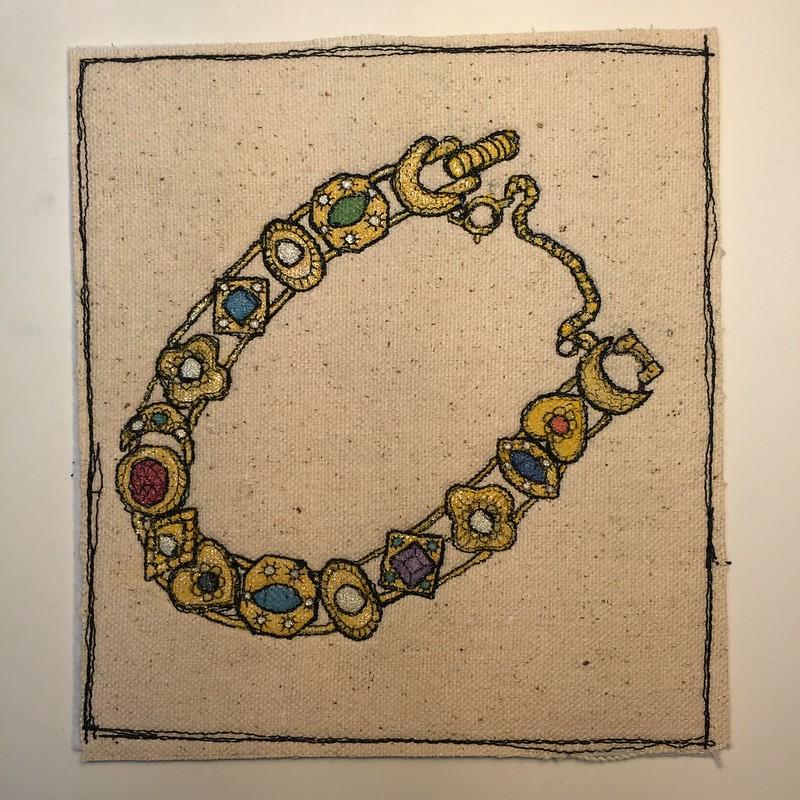 drawlloween day 15: amulet