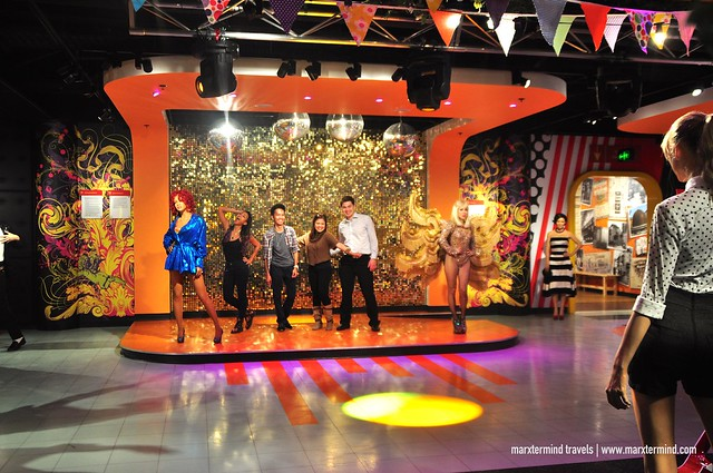Friends Performing Like a Star at Madame Tussauds Sydney