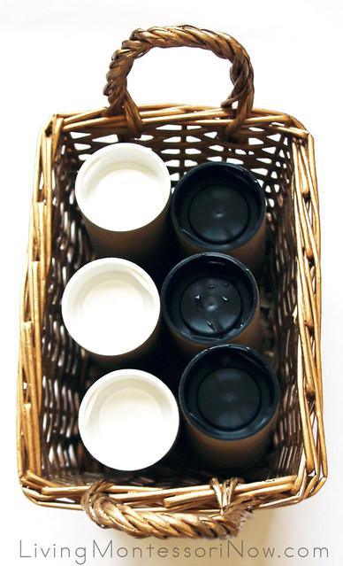 Montessori Sound Cylinders - Introductory Set