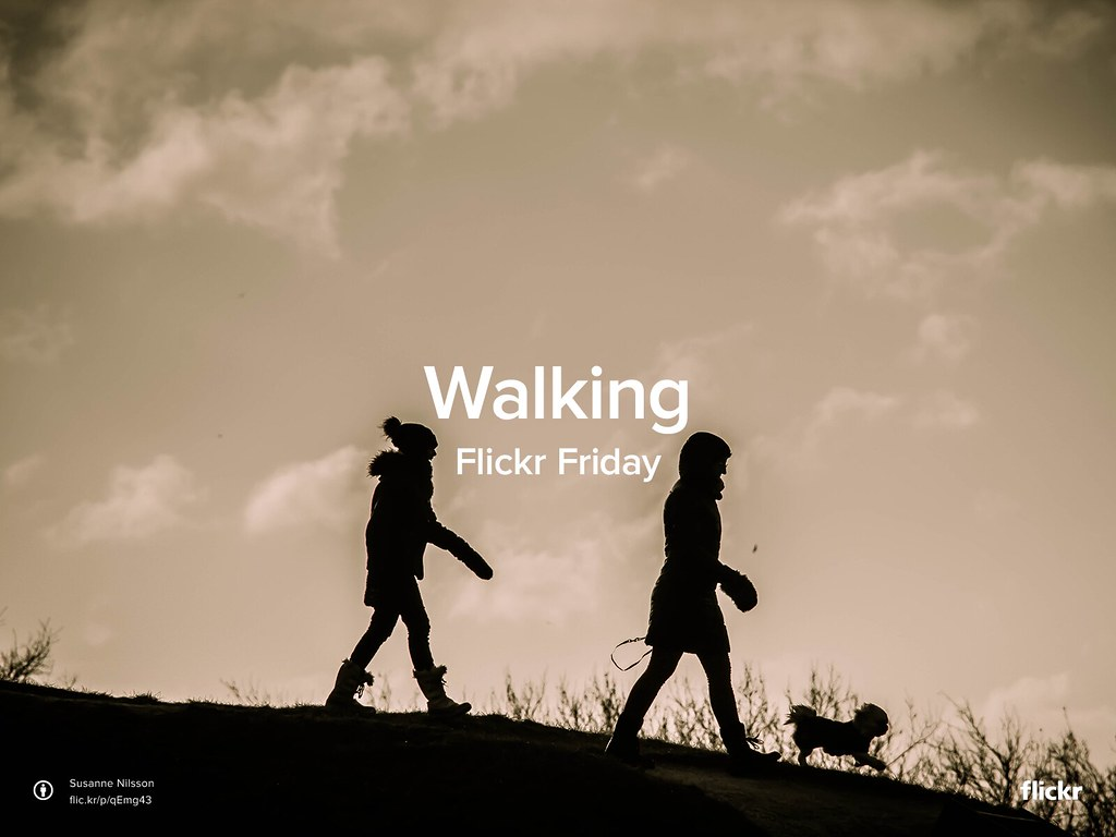 Flickr Friday: Walking