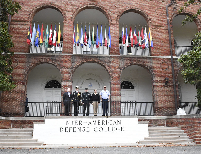 Director of Staff-Strategic Joint Staff Visits the IADC