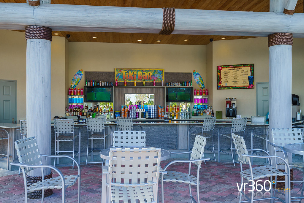Tiki Bar at the Oasis Clubhouse in Champions Gate