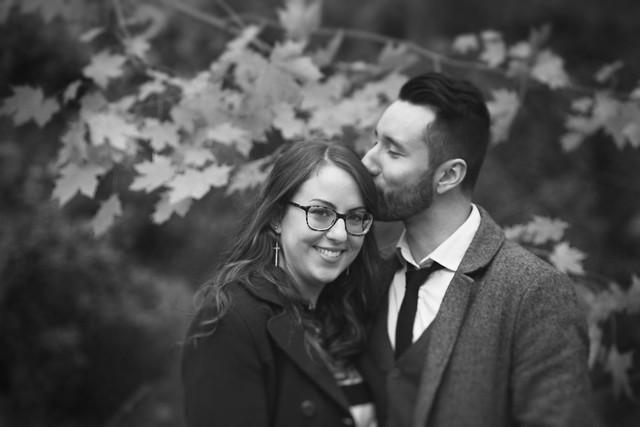 Veronica & Justin | Waterloo Park Vintage Inspired Engagement Photograophy