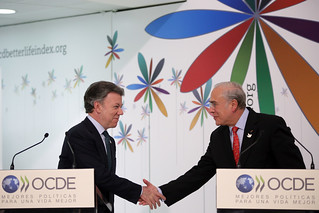 President Juan Manuel Santos official visit to the OECD