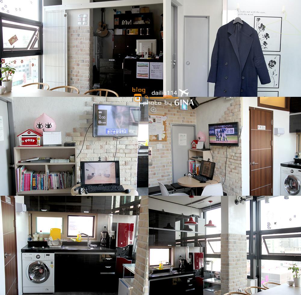 首爾住宿》新村 OKHouse (原為Room in Korea 膠囊旅館) @Gina Lin